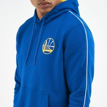 New Era Men's NBA Golden State Warriors Stripe Piping Hoodie, 1671551