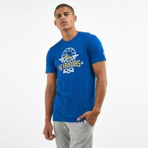 New Era Men's NBA Golden State Warriors League Net Logo T-Shirt
