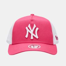 New Era Women's MLB New York Yankees League Essential 9FORTY Trucker Cap