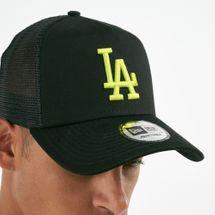 New Era Men's MLB LA Dodgers League Essential 9FORTY Cap - Black, 1669413