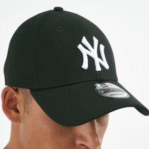 New Era Men's MLB New York Yankees Diamond Era Trucker 9FORTY Cap - Black, 1669514