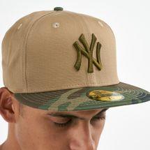 قبعة إم-إل-بي نيويورك يانكيز إسنشال كامو 59فيفتي من نيو ايرا للرجال, 1671497