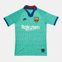 Nike Kids' FC Barcelona Breathe Stadium Jersey T-Shirt (Older Kids)