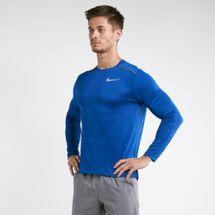 Nike Men's Dri-FIT Miler Long Sleeve Running T-Shirt