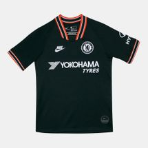 Nike Kids' Chelsea FC Breathe Stadium Jersey T-Shirt (Older Kids)