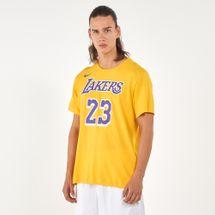 Nike Men's NBA Los Angeles Lakers LeBron James Dri-FIT T-Shirt