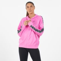 Nike Women's Full-Zip Logo Tape Hoodie