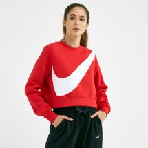 Nike Women's Swoosh Crew Fleece Sweatshirt