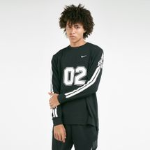 Nike Men's Mesh Long-Sleeve Skate Top
