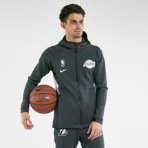 Nike Men's Los Angeles Lakers Therma Flex Showtime Zip Hoodie