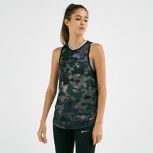 Nike Women's Dri-FIT Camo Training Tank Top