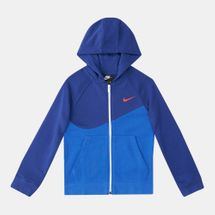 Nike Kids' Sportswear Swoosh Fleece Hoodie (Older Kids)