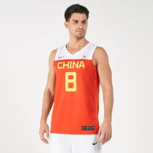 Nike Men's China Road to World Cup Basketball Jersey