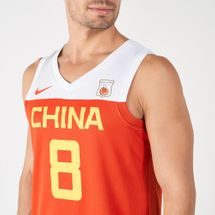 Nike Men's China Road to World Cup Basketball Jersey, 1986374