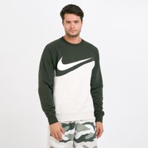 Nike Men's Sportswear Swoosh Long Sleeves Sweatshirt