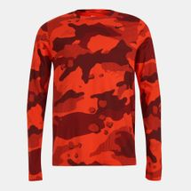 Nike Men's Dri-FIT Camo Long Sleeves T-Shirt