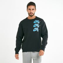 Nike Men's SB Icon Fleece Skate Long sleeve Sweatshirt