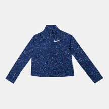 Nike Kids' Pro Warm Metallic Starry Night Long Sleeves T-Shirt (Older Kids)
