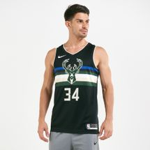 Nike Men's NBA Milwaukee Bucks Giannis Antetokounmpo Swingman Statement Jersey