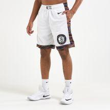 Nike Men's Brooklyn Nets Swingman 19 Basketball Shorts