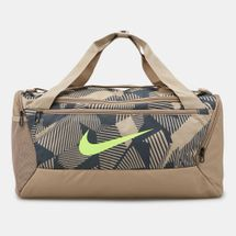 Nike Men's Brasilia 9.0 Small Allover Print Duffel Bag