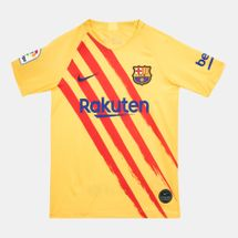 Nike Kids' FC Barcelona Breathe Stadium Jersey (Older Kids)