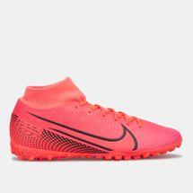 حذاء كرة القدم ميركوريال سوبرفلاي 7 أكاديمي للعشب الصناعي من نايك للرجال