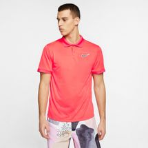 Nike Men's Court Breathe Advantage Tennis Polo T-Shirt