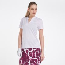 Nike Golf Women's Breathe Jacquard Polo T-Shirt