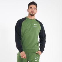 Nike Men's Sportswear Swoosh Crew Sweatshirt