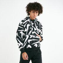 Nike Men's Sportswear Club 2 All-Over Print Hoodie, 2072295