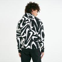 Nike Men's Sportswear Club 2 All-Over Print Hoodie, 2072296