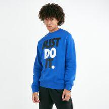 Nike Men's Sportswear Just Do It Hybrid Fleece Sweatshirt