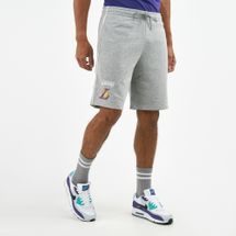 New Era Men's Los Angeles Lakers Stripe Piping Shorts
