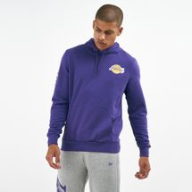 New Era Men's NBA Los Angeles Lakers Wordmark Hoodie