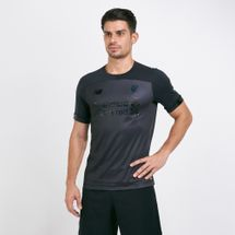 New Balance Men's Liverpool FC Home Blackout Infinity Pack T-Shirt