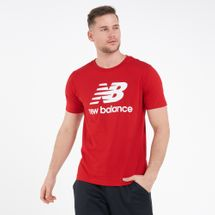 New Balance Men's Essentials Stacked Logo T-Shirt