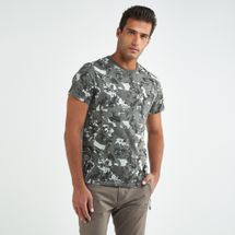 Timberland Men's All Over Prints T-shirt