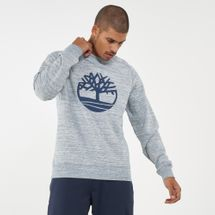 Timberland Men's Red Hill River Fabric Interest Crew Sweatshirt