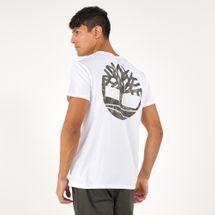 Timberland Men's Back Logo Camo T-Shirt