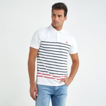 Timberland Men's Millers River Stripe Polo T-shirt