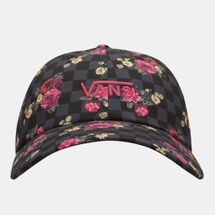 قبعة كورت سايد بالطبعات من فانس للنساء