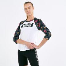 Vans Women's Botanical Tangle Raglan T-shirt