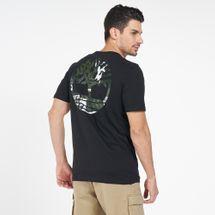 Timberland Men's Camo Logo T-Shirt