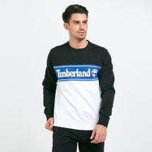 Timberland Men's Sport Lifestyle Cut And Sew Sweatshirt