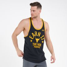 Under Armour Men's Project Rock Iron Paradise Tank Top