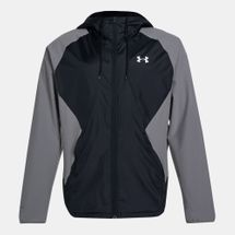 Under Armour Men's Stretch Woven Full Zip Jacket