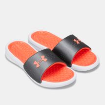 Under Armour Women's Playmaker Fixed Strap Slides