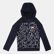 Nike Kids' Sportswear Just Do It RTL Half-Zip Hoodie (Older Kids)