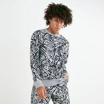 Nike Men's SB Crew All-over Print Sweatshirt